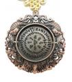 Amulette de la Fleur de Pêcher avec Dragon -Phœnix #4